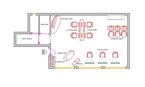 small beauty salon floor plans salon equipment and beauty furniture