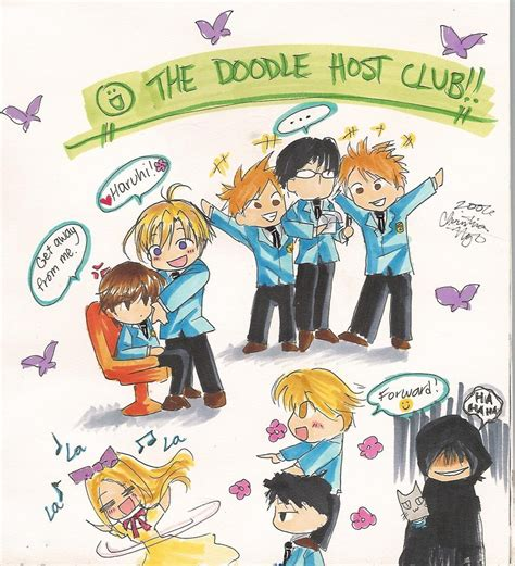labra doodle club the doodle host club by ember snow on deviantart