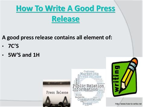 how to write a press release that gets noticed