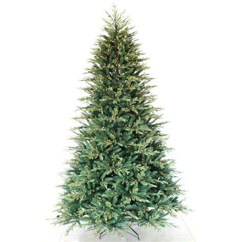 9 foot artificial tree 9 ft pre lit balsam artificial tree with 900