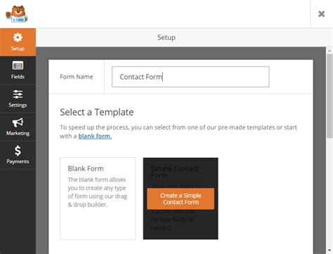 how to create a basic contact form for wordpress with wpforms