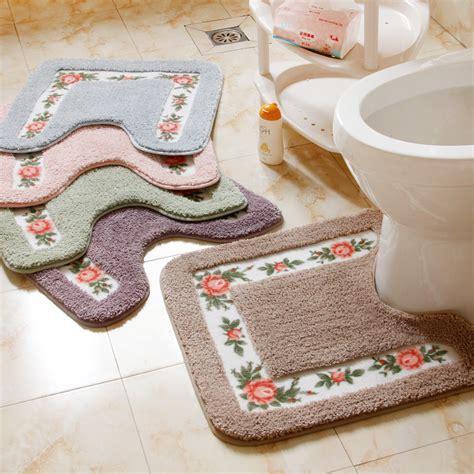 Cheap 1pc Shower Pad Pad Mat Rug Bathroom Mats Set Coral Cheap Bathroom Rugs Set