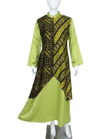 Gamis Alyssa gamis pesta batik alyssa green gamis batik murah