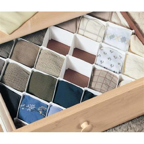 How To Make Dividers For Drawers by Drawer Divider In Closet Drawer Organizers