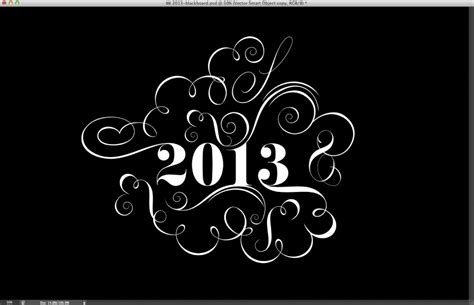 typography tutorial abduzeedo easy chalk ornament typography in photoshop