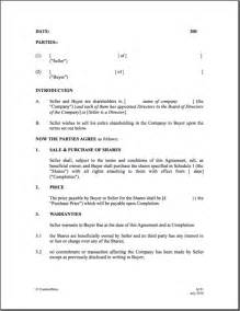 Share Sale Agreement Template 7 Best Images Of Boat Purchase Agreement Template Boat