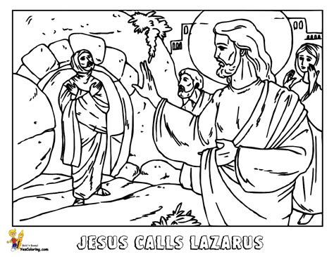 coloring page jesus and lazarus glorious jesus coloring bible coloring free printable