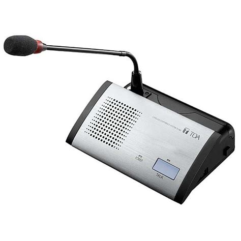 Li Dan Speaker Toa toa ts 802 wireless conference system delegate unit commercial audio solutions
