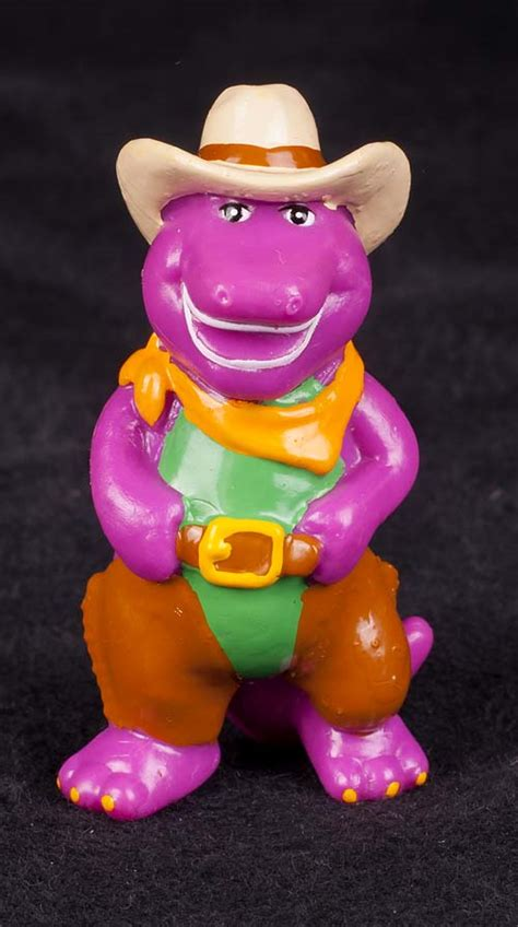 Home Decorator le chat noir boutique barney the dinosaur western cowboy