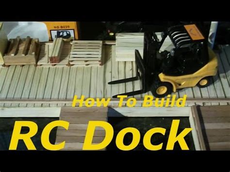 how to make a rc boat youtube how to build a rc boat dock youtube