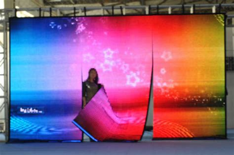 flexible led video curtain flexible led curtain soft led screen led display id
