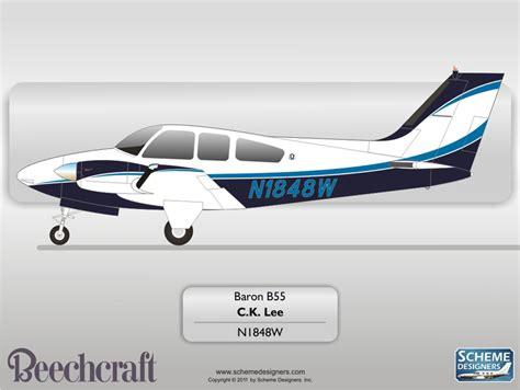beechcraft b55