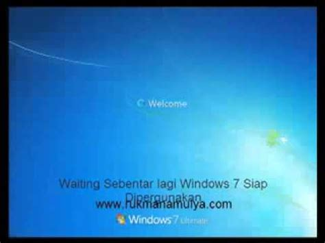 tutorial instal ulang windows 7 youtube cara format install ulang windows 7 youtube