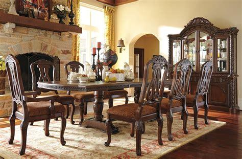 north shore pedestal dining room set millennium  reviews furniture cart