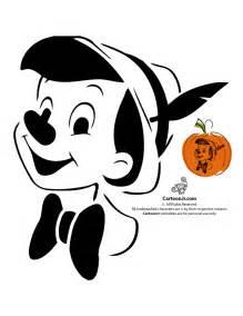 Disney Pumpkin Templates by Classic Disney S Pinocchio Pumpkin Template Jr