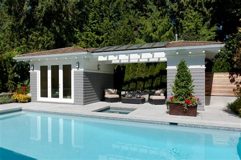 pool cabana plans diy mcnary great ideas to
