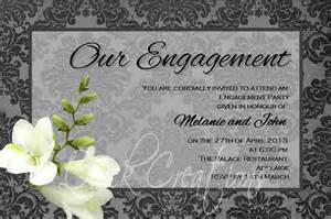 engagement invitations 21st bridal world wedding ideas and trends