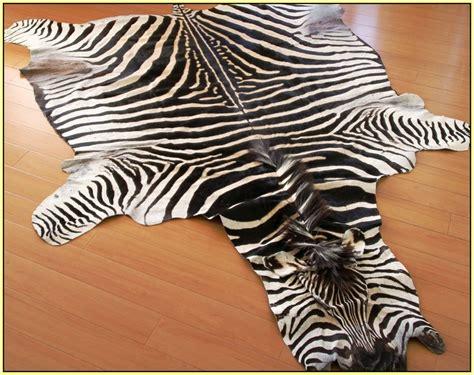 real zebra rugs real zebra hide rug rugs ideas