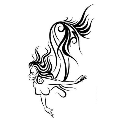 mermaid tribal tattoo mermaid tattoos designs gallery unique pictures