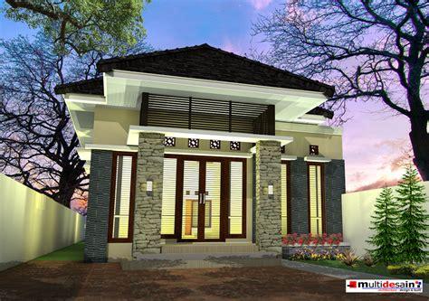 desain rumah tak depan sing belakang multidesain arsitek architecture design service hp wa