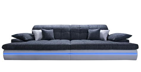Big Sofa Mit Ottomane by Big Sofa Leder Schwarz Carprola For