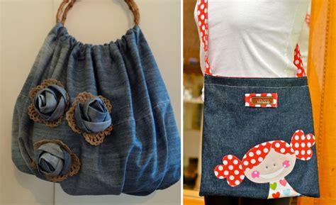 como decorar un jeans en casa jean reciclado 161 fant 225 sticas ideas para hacer bolsos