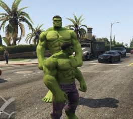 mod gta 5 pc hulk hulk classic gta5 mods com