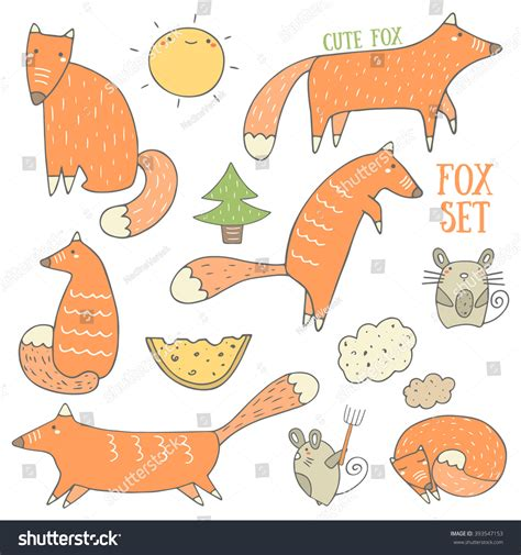 how to do foxtrot on doodle fit doodle fox and forest objects collection