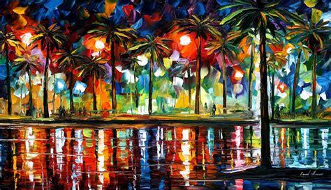 all artist leonid afremov oil on canvas palette knife buy original