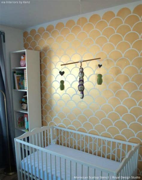 stencils for rooms 5 baby room d 233 cor accent walls ideas nursery stencils royal design studio stencils