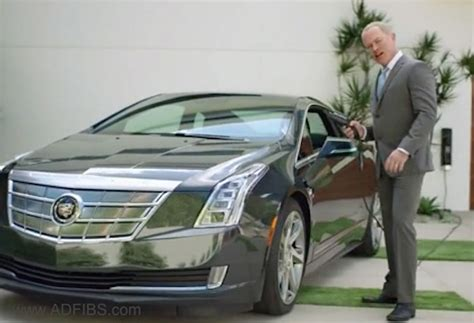 cadillac elr commercial actor cadillac clears the air on quot poolside quot