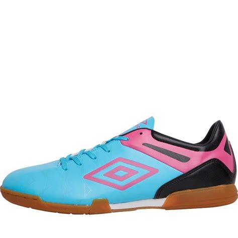 umbro football shoes umbro ux1 club indoor football shoes blue pink black mens