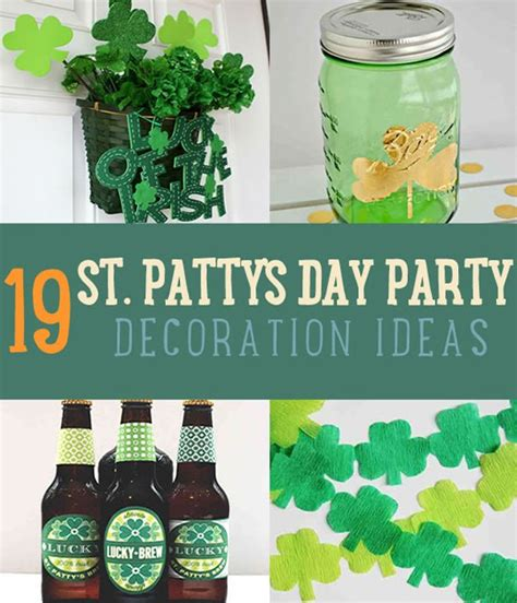 st s day decorations 19 awesome st patricks day decorating ideas diy