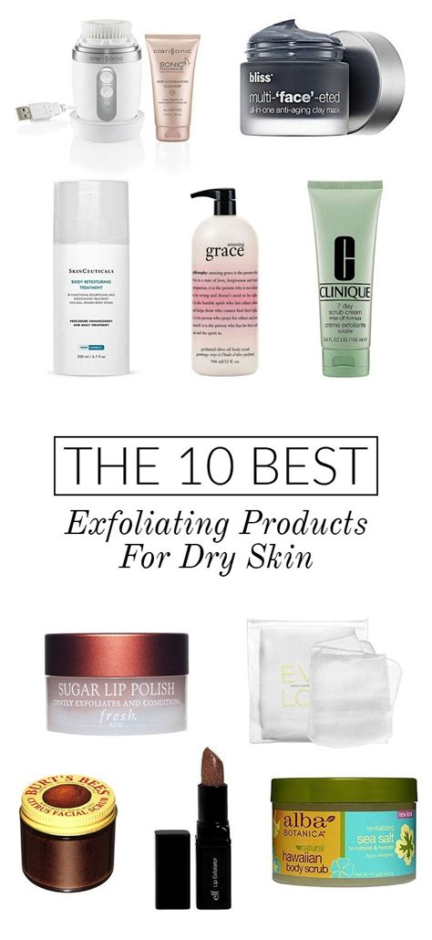 Top 10 Products For Skin by The 10 Best Exfoliating Products For Skin Glitter Guide