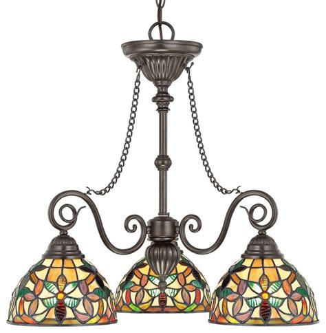 quoizel kami tiffany style table l quoizel kami tiffany style dinette chandelier