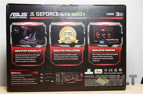 Harga Asus Gtx 1050 by Review Asus Expedition Gtx 1050 Ti Nasi Lemak Tech