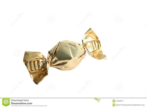 Sweety Gold S36 Free 6 sweet gold wrapper stock image image of caramel