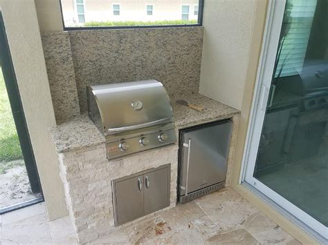 limestone backsplash kitchen outdoor kitchen on a lanai patio extension outdoor kitchens