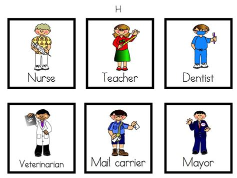 kindergarten activities community helpers community helpers unit a funny learning at the