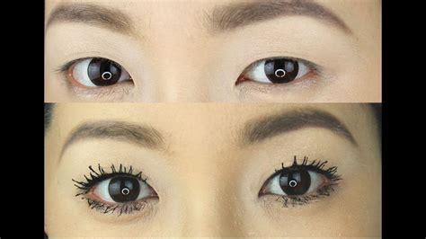 fake  lashes asian eyes