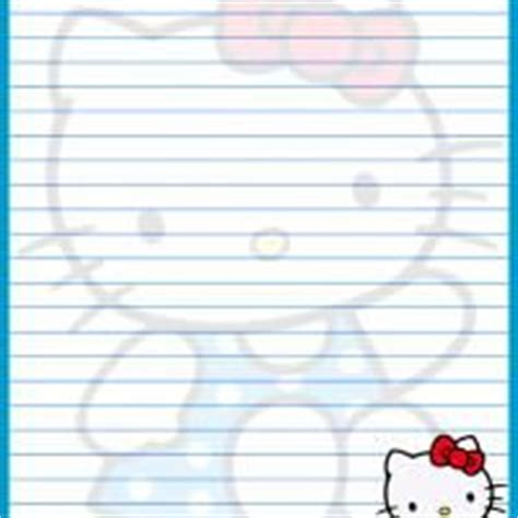 printable hello kitty notebook paper 1000 images about helpful pages when having a monster