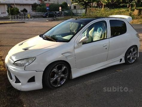 Auto Tuning 2000 by Sold Peugeot 206 1 4 Tuning Used Cars For Sale Autouncle