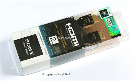 Sony Hdmi He20xf By Waroengame cabo hdmi sony original 1 4 3d dlc he20xf 2 metros hd