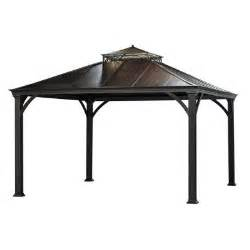 8 Ft Hardtop Gazebo by Jackson 12 Ft X 10 Ft Hardtop Gazebo L Gz401pco 2 The