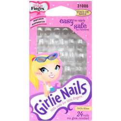 best stick on nails little fing rs stick on nails girlie nails 24 pk