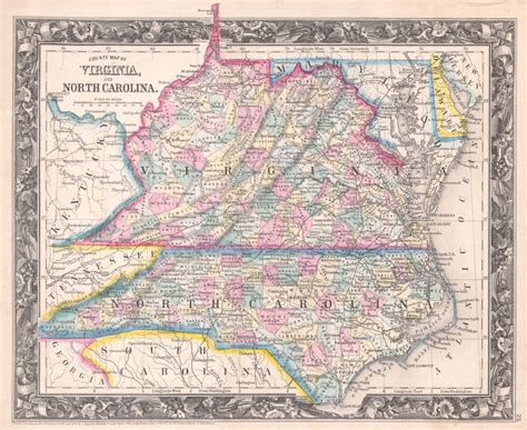 map of virginia and carolina 1000 images about maps on