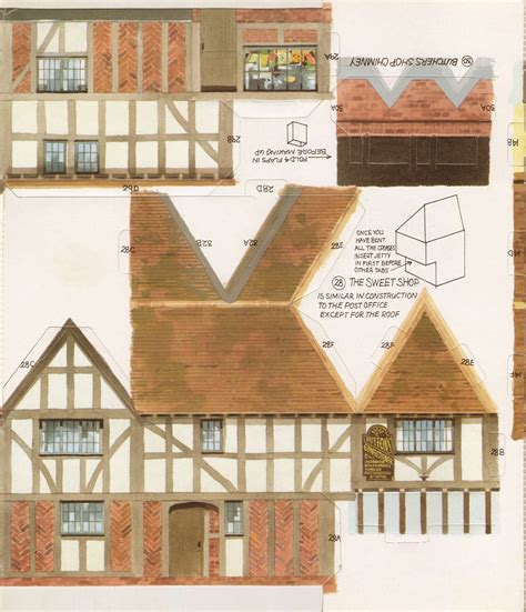 printable paper buildings 1000 images about papierowe on pinterest