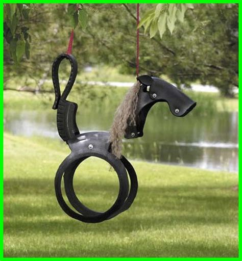 tyre swing horse how to make a rope swing for your kids page 2 of 2