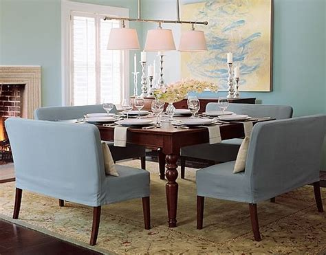 Loveseat in dining room