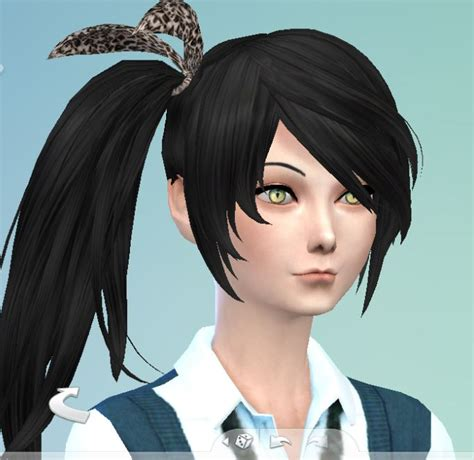 sims 4 anime hair cc the sims 4 anime by fadhilyudho on deviantart